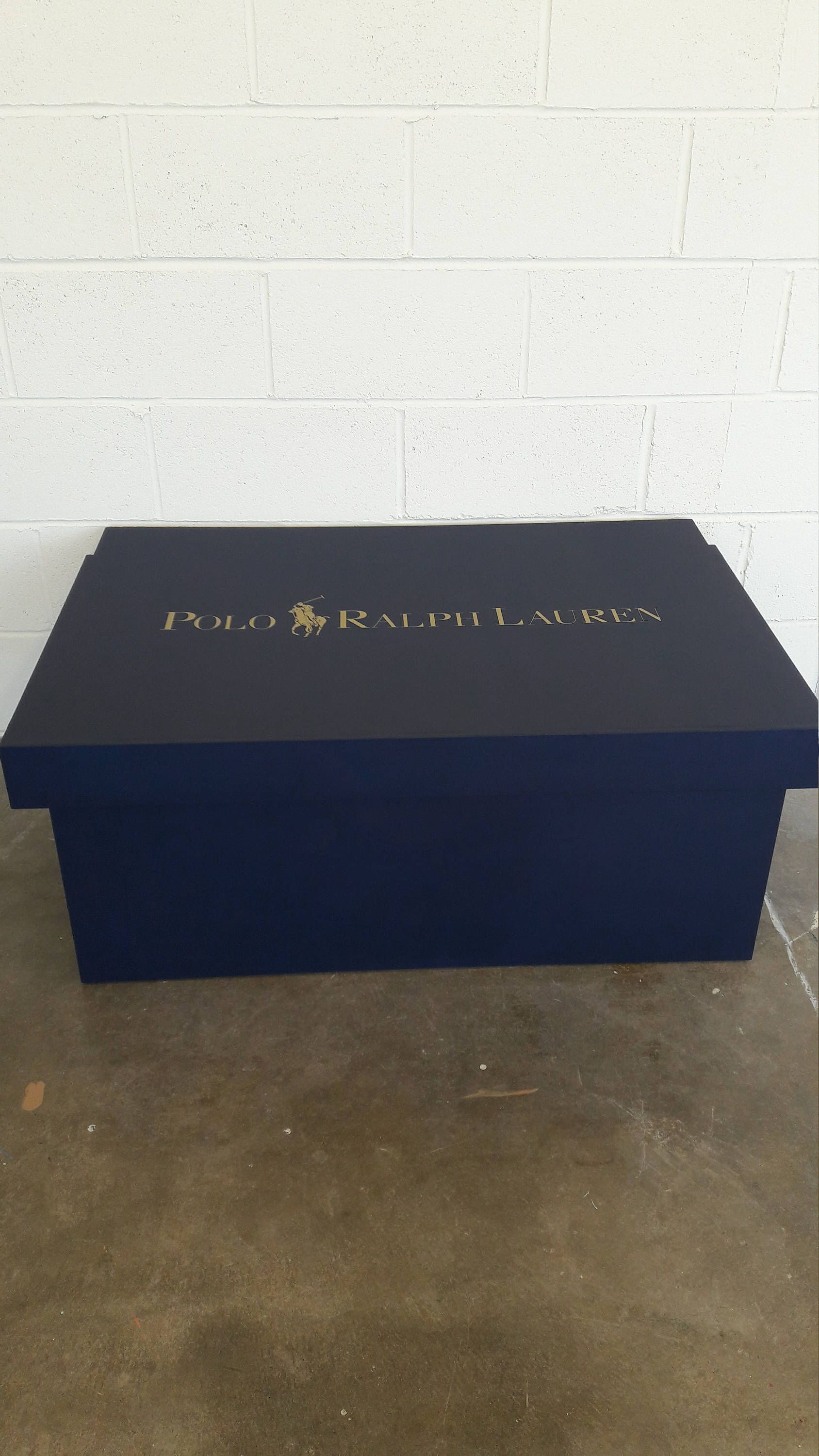 8d3eb998f2f0d XL / Giant Trainer / Sneaker Shoe Storage Boxes, Ralph Lauren 16+ ...