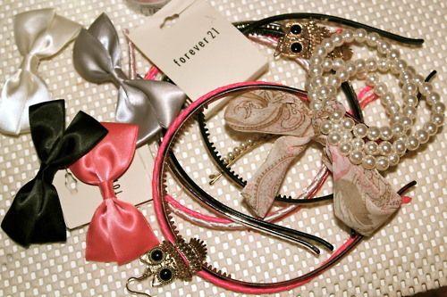 Bows, Pink & Pearls