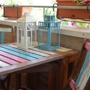 (TUTORIAL) EL TUNEO DE MI TERRAZA CON CHALK PAINT EN SPRAY