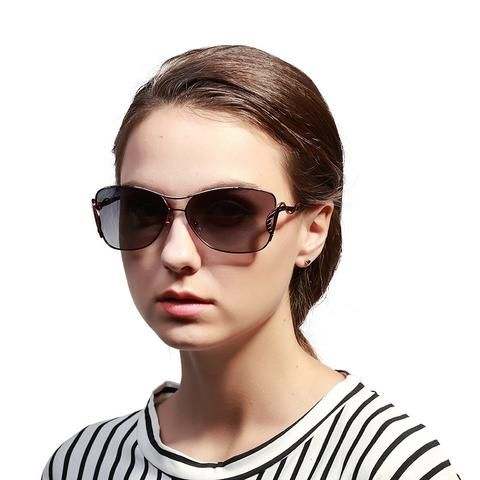 Affordable High Quality Vintage Large Frame Women Sunglasses WDSG115