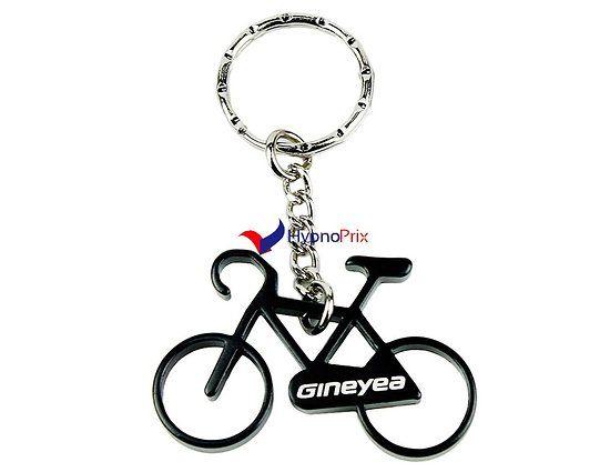 Porte-clé décapsuleur vélo (Noir)