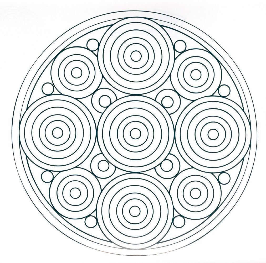 Mandalas+Gotas+de+lluvia+en+un+estanque.jpg (1012×1002) | LAZOS ...