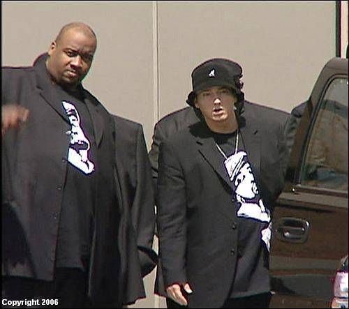 Tupac And Biggie Funeral Pics From Proofs Funeral