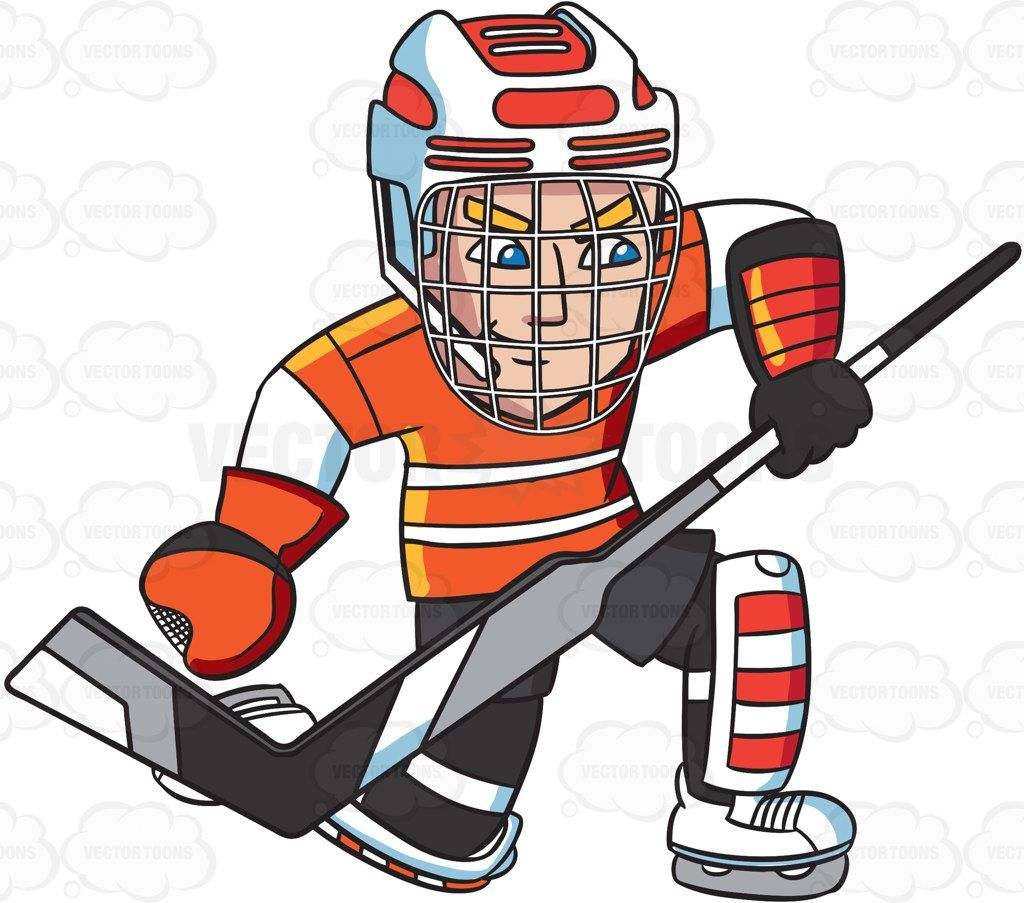 A Hockey Goaltender Prepares To Block A Puck Hockey Grays Hockey Sticks Hockey Uniforms