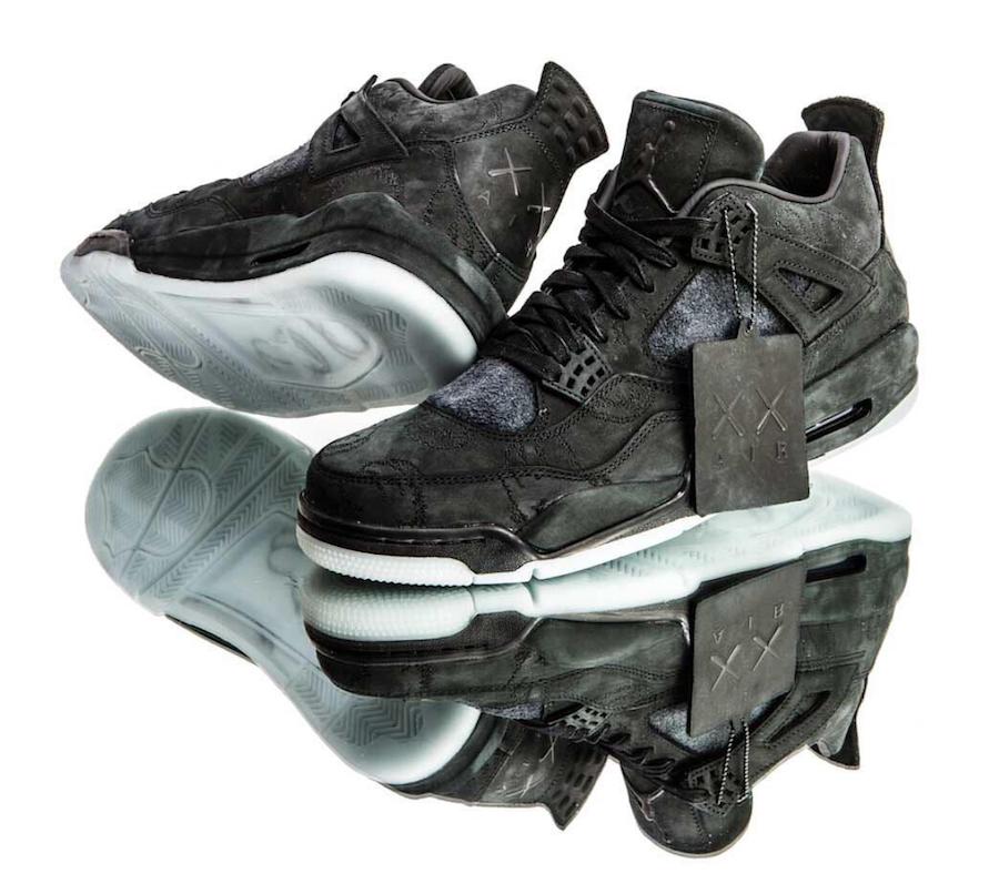 Kaws X Air Jordan 4 Black Cyber Monday Sneaker Bar Detroit Air Jordans Sneakers Men Fashion Jordan 4 Black