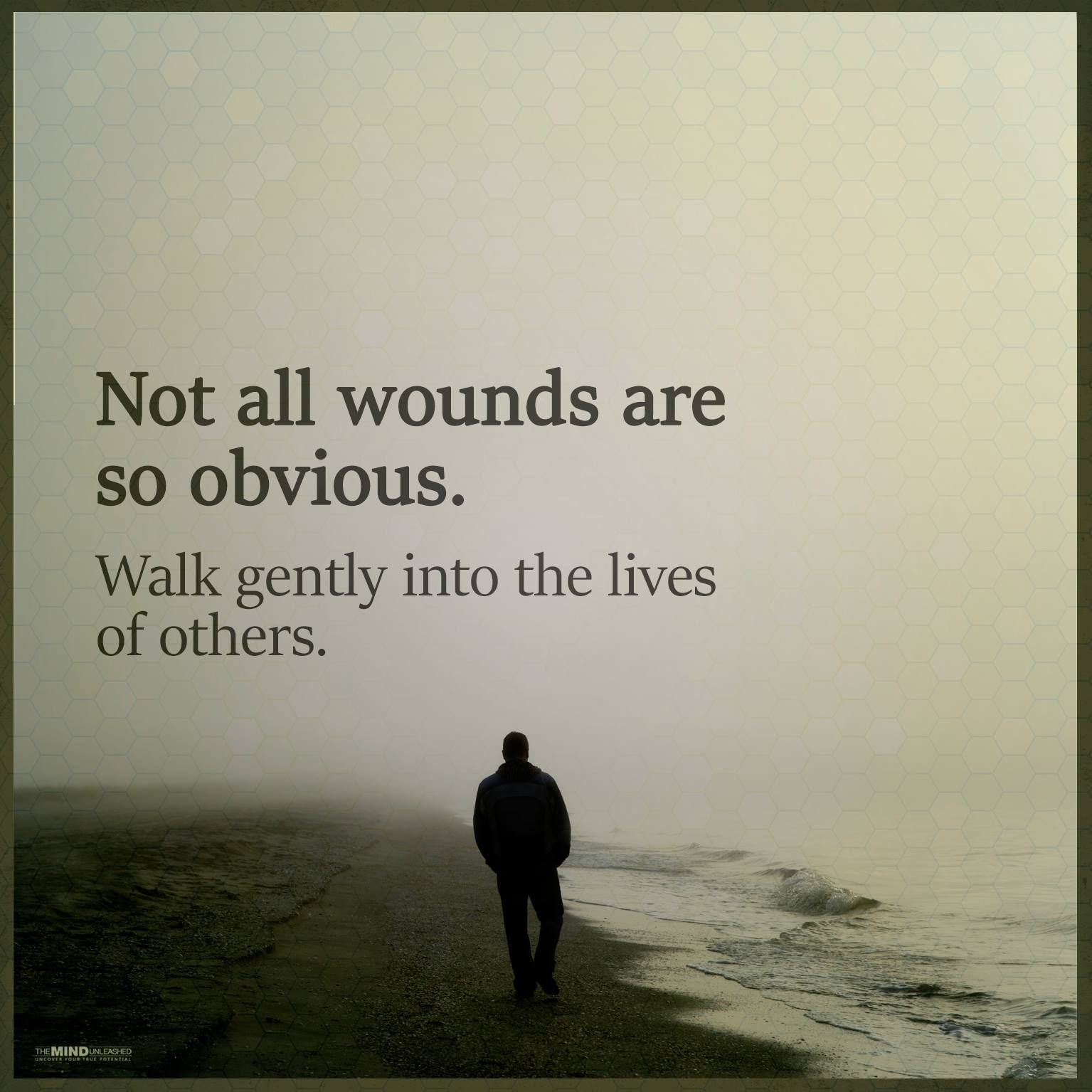 not all wounds...