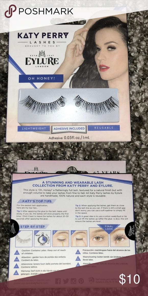 10f7d0c65e0 Eylure Katy Perry Lashes Oh Honey! NEW Brand new in sealed box. Oh Honey!  Eylure Makeup False Eyelashes