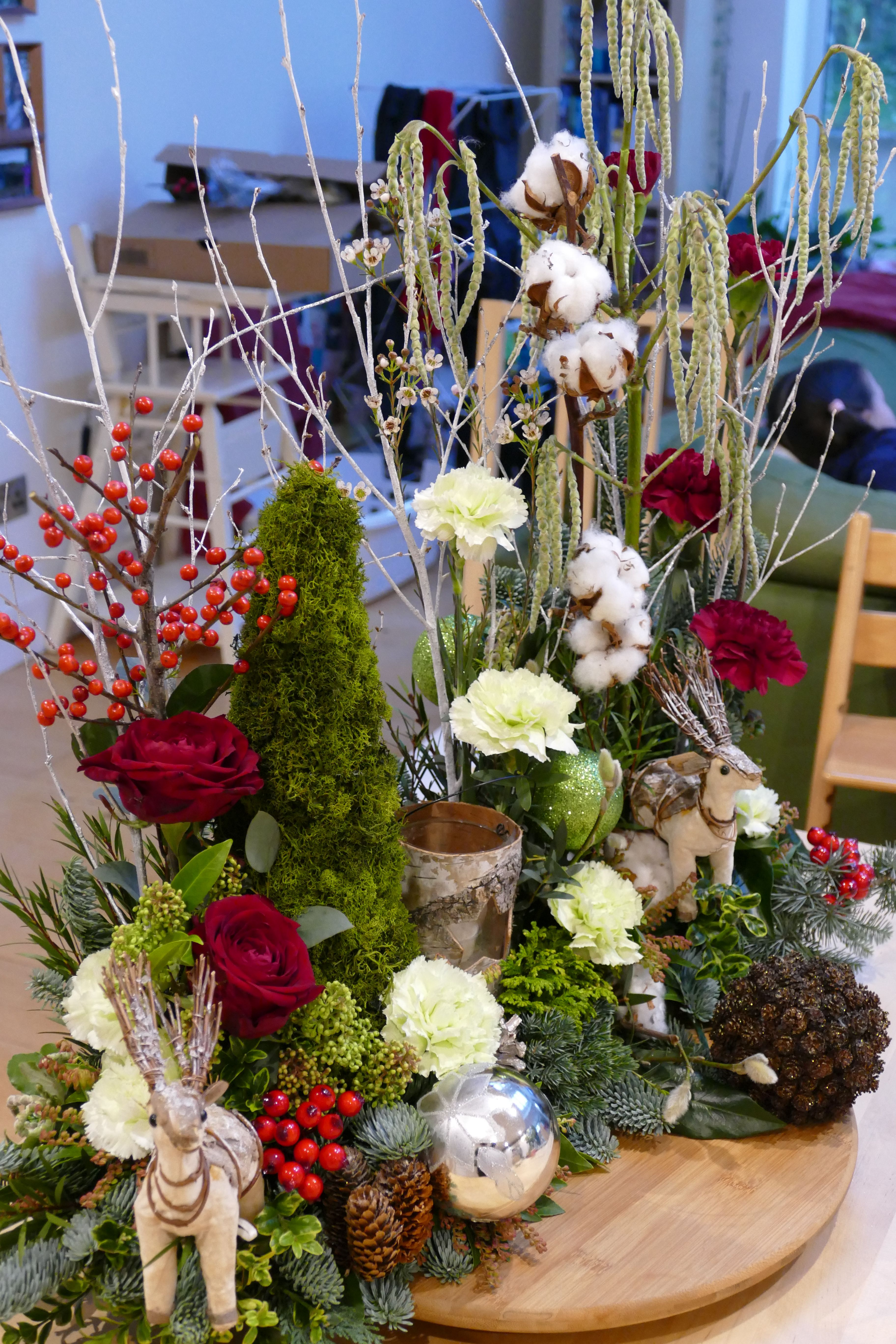 Christmas Table Design by Mel Harris Dec 2016