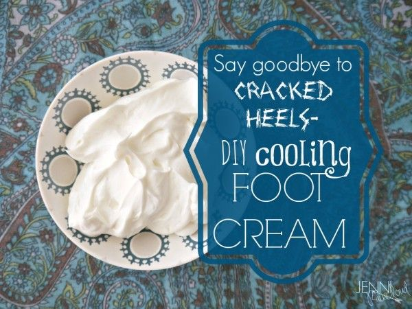 Cooling Foot Cream Recipe Foot Cream Foot Cream Recipe