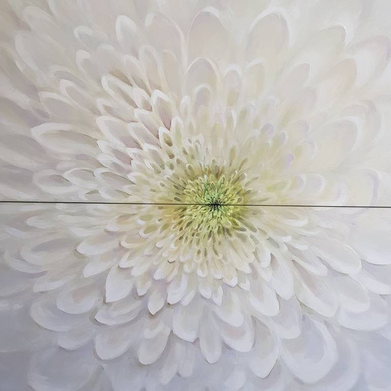 Perfectly Made Painting In 2020 Geometric Painting Chrysanthemum Painting Flower Painting