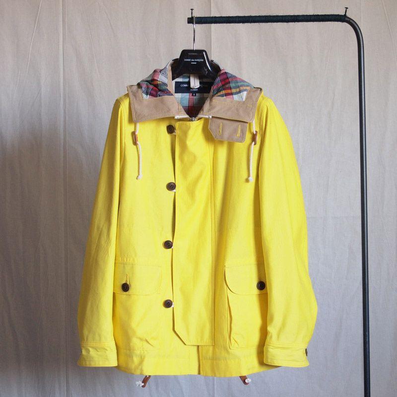 COMME des GARCONS HOMME. Jacket. 81900JPY.