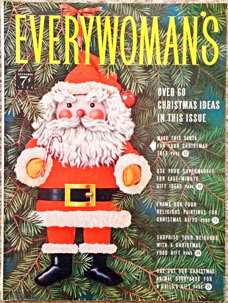 DECEMBER 1956 Every Woman\u0027s - HERITAGE FOODS - CHIRSTMAS STORY