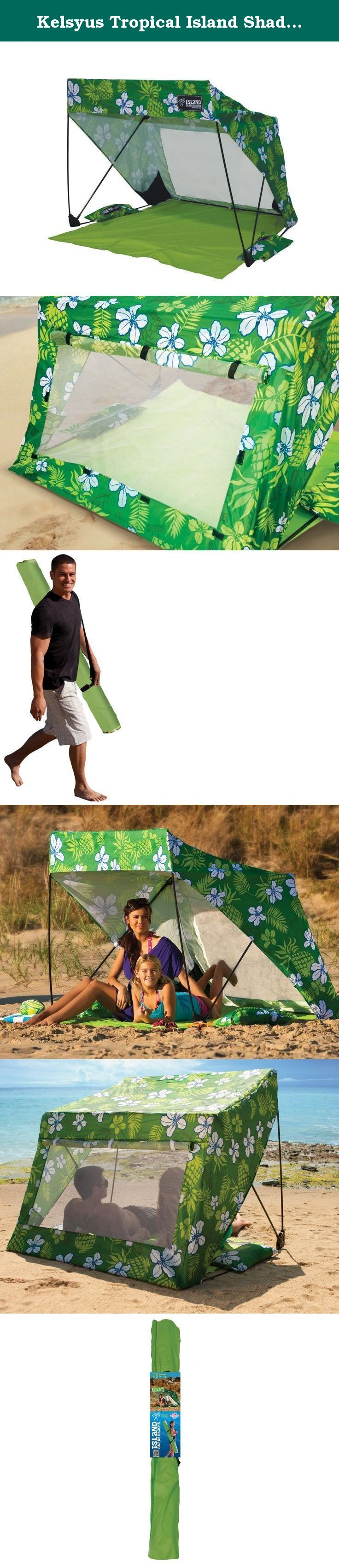The Kelsyus Island Shade Shack makes beach and sideline shade cool! Invented by pro surfer Bobby Friedman this sun shelter is your solution for portable ... & Kelsyus Tropical Island Shade Shack. The Kelsyus Island Shade ...