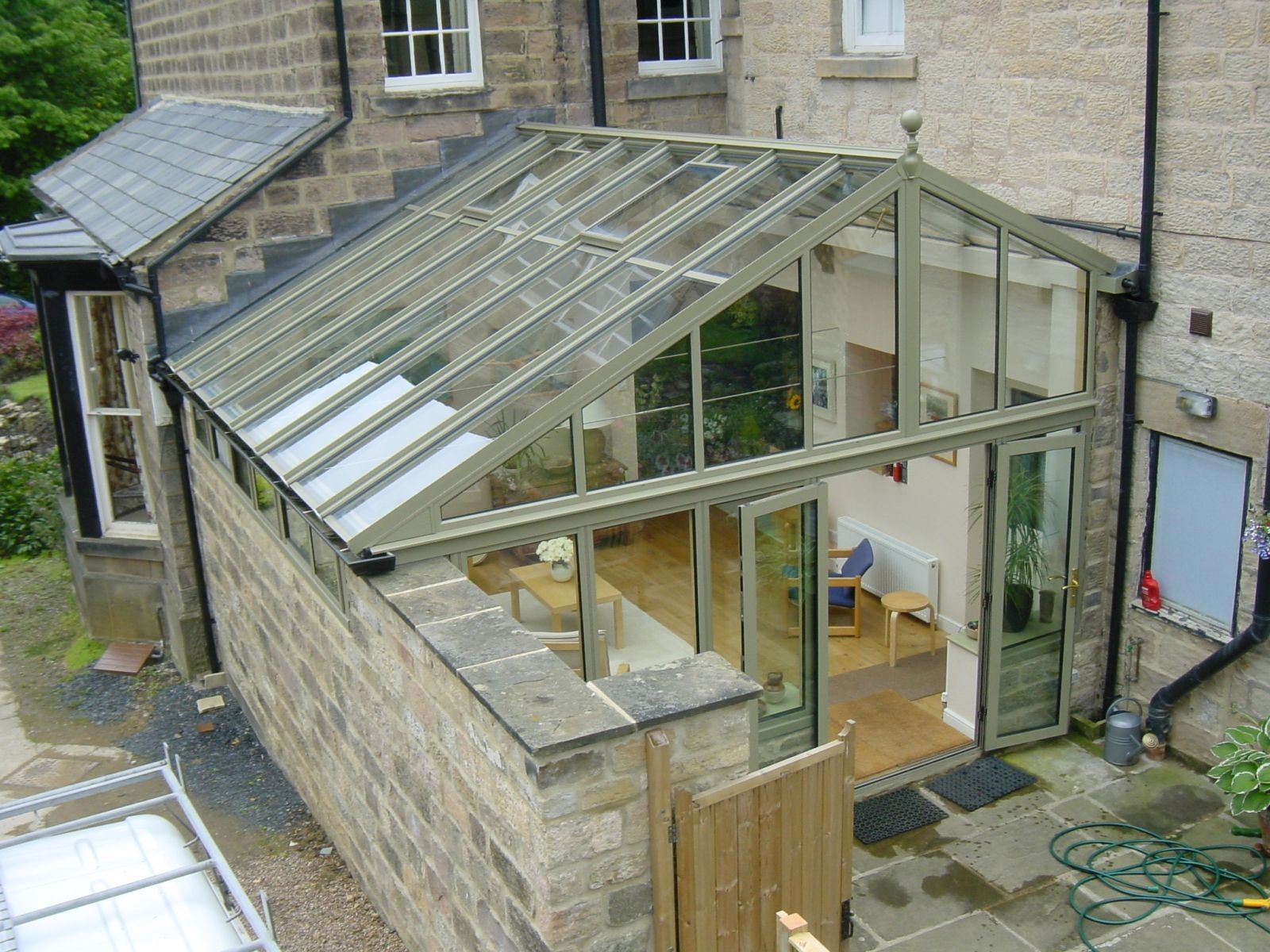 An Ultraframe Quantal Roof In 2020 Conservatory Roof Maine House Conservatory