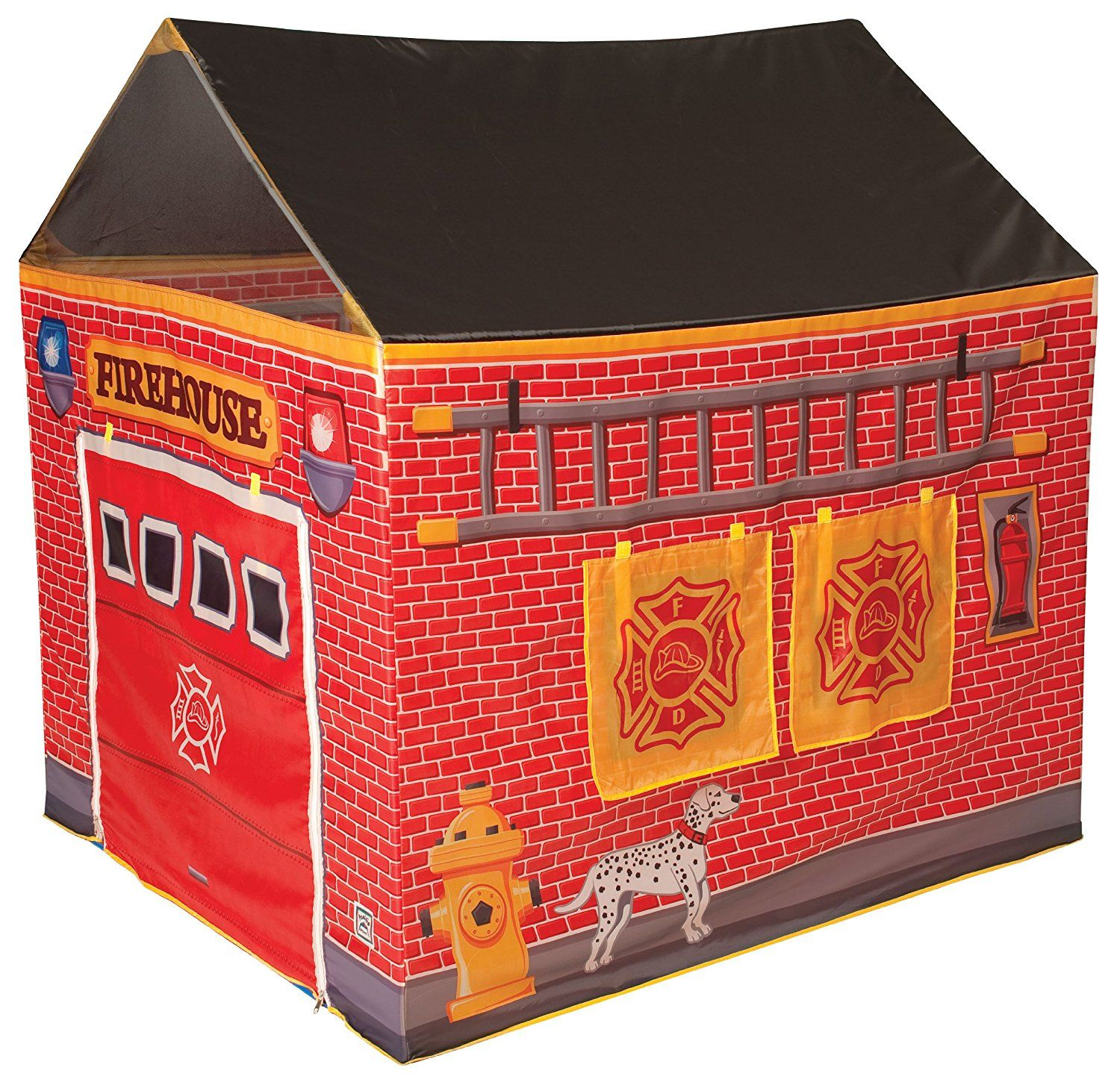 Fire station house tent toys games kids