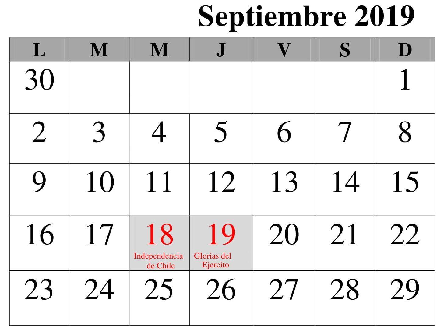 Calendario 2019 Mes Septiembre Con Festivos Interior Design Trends Interior Design Living Room Design Trends