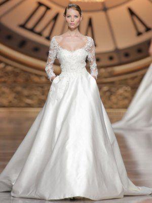 باقة ناعمة من فساتين الأعراس من توقيع خالد الماضي لكل عروس Long Sleeve Bridal Dresses Wedding Dresses Bridal Dresses