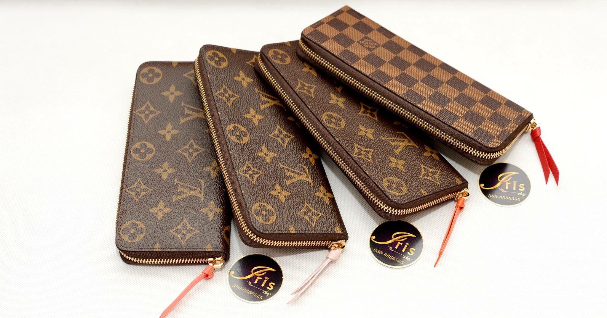 กระเป๋าเงิน LV Clemence Wallet กดเข้ามาเลือกชมกันเลยนะคะมีหลายสี  ของใหม่พร้อมส่งเลยจ๊ะ‼ - Iris Shop cf324aca3fe