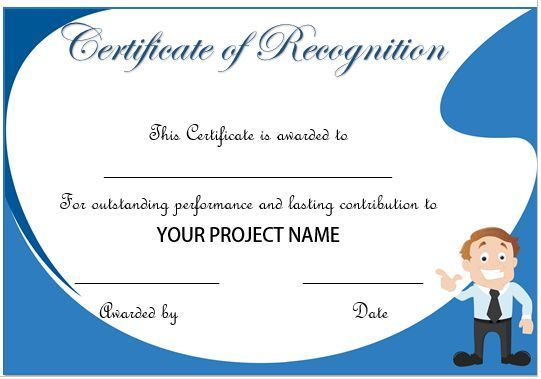 appreciation certificates for employees bules penantly co