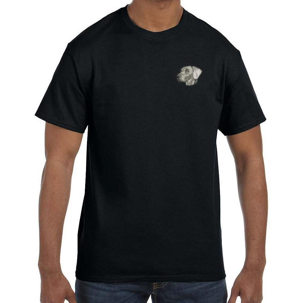 Weimaraner Embroidered Mens T Shirts Shirts Cute Corgi Puppy
