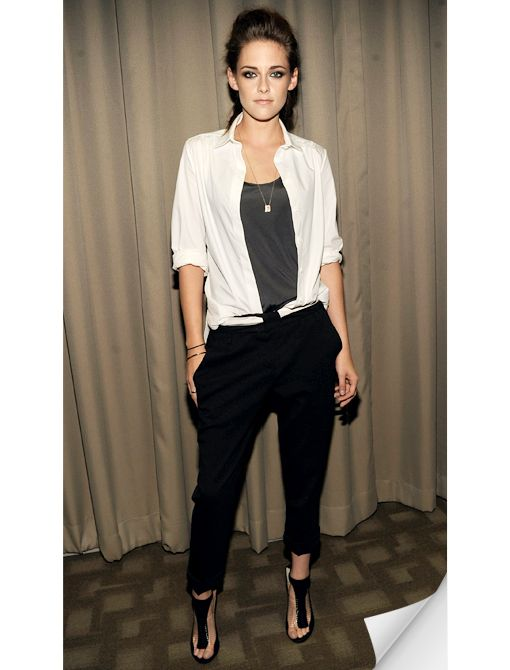 Tomboy Chic - love the look