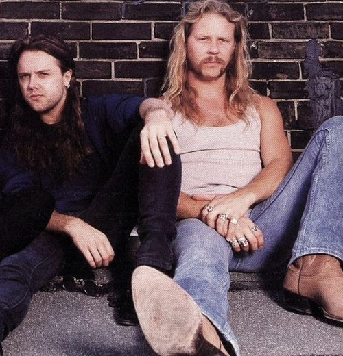 Lars Ulrich James Hetfield James Hetfield Metallica Legend Music