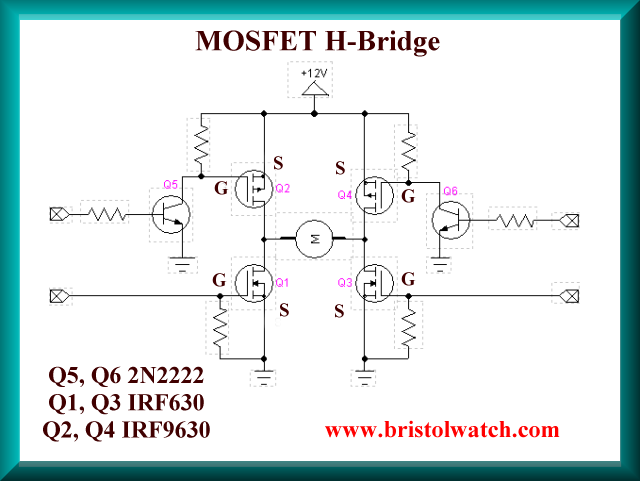 Fantastic Power Mosfet H Bridge Basic Circuit Electronics In 2019 Wiring 101 Relewellnesstrialsorg