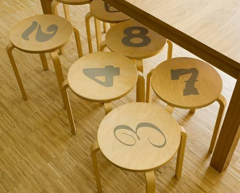 Image detail for -Image above: Number stools in Absolute Zero ...