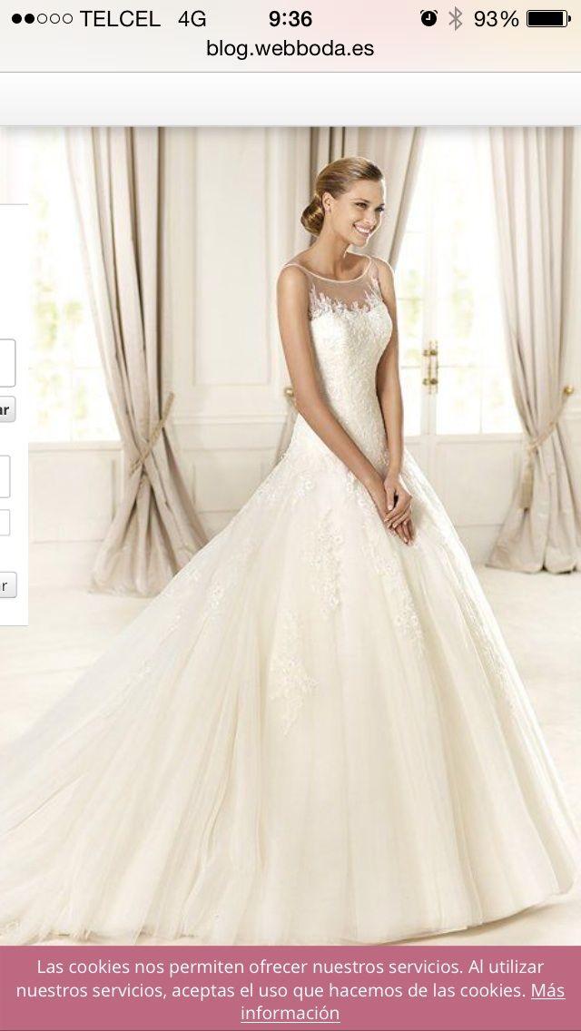 ¡Nuevo vestido publicado!  Pronovias mod. Dolomita ¡por sólo $27500! ¡Ahorra un 39%!   http://www.weddalia.com/mx/tienda-vender-vestido-de-novia/pronovias-mod-dolomita/ #VestidosDeNovia vía www.weddalia.com/mx