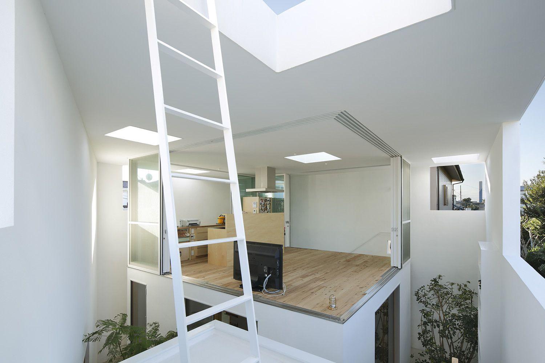 Galería de Casa de adentro hacia afuera / Takeshi Hosaka - 2 ...