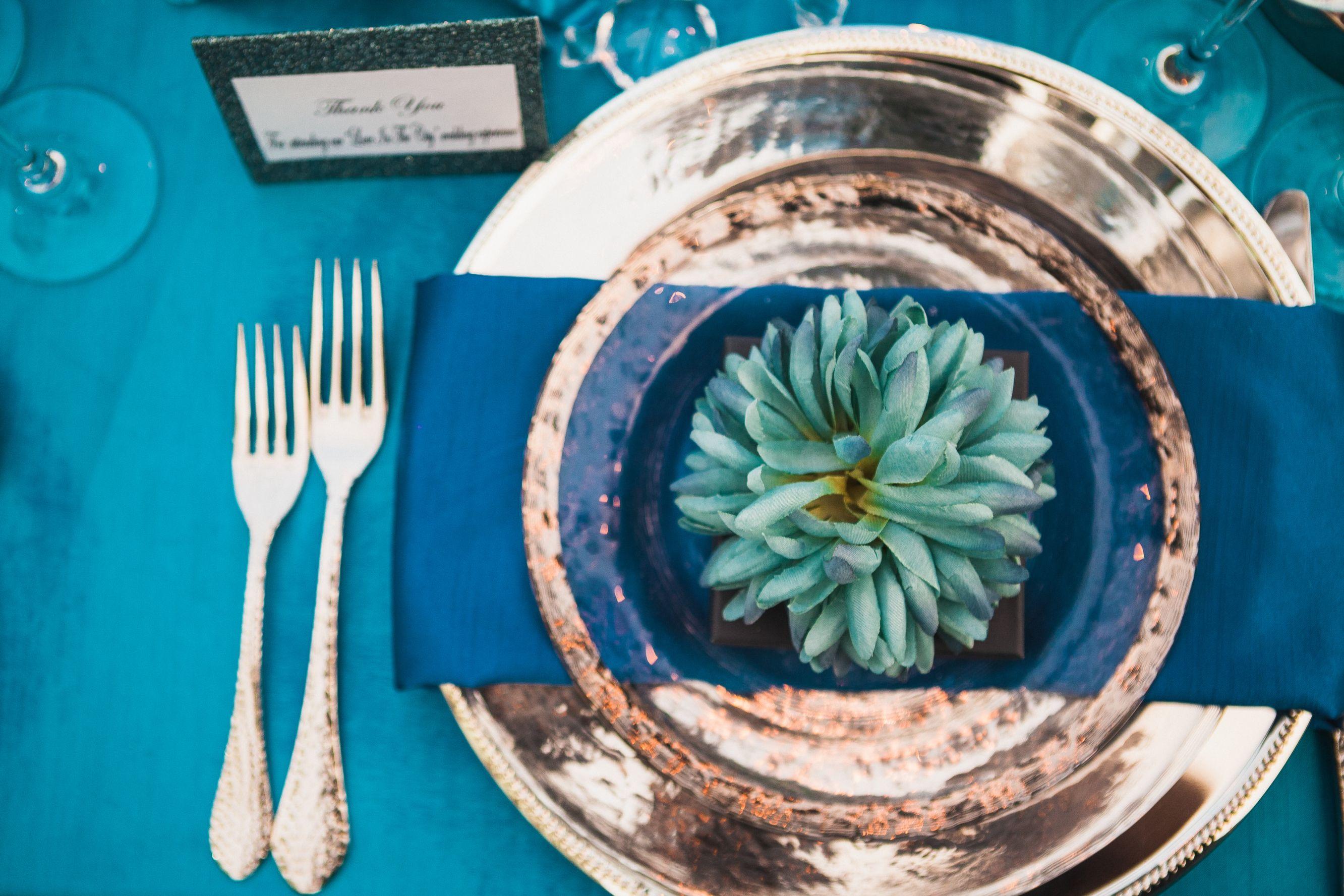 paigebrowndesigns.com, blue wedding, elegant wedding, elegant tablescape, table setting, Nashville wedding planner, Paige Brown Designs