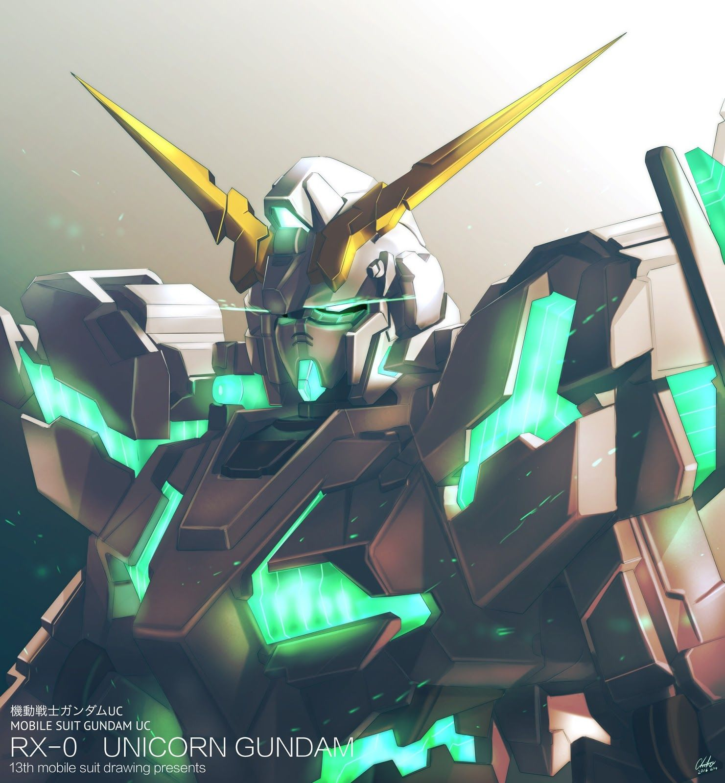 Gundam Iphone Wallpaper: GUNDAM GUY: Awesome Gundam Digital Artworks [Updated 6/22