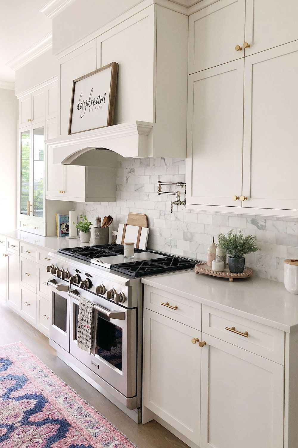 70+ White Cabinets with WHITE COUNTERTOP – ( Going out of style? )