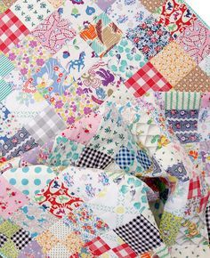Red Pepper Quilts: Vintage and Feedsack Fabric Quilt