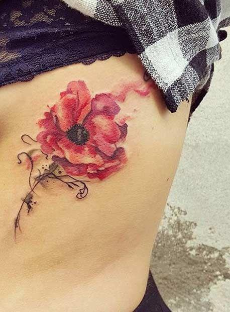 51 Watercolor Tattoo Ideas For Women Tatouage Aquarelle