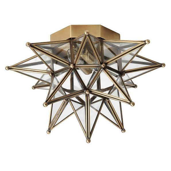 Moravian star ceiling mount ballard designs