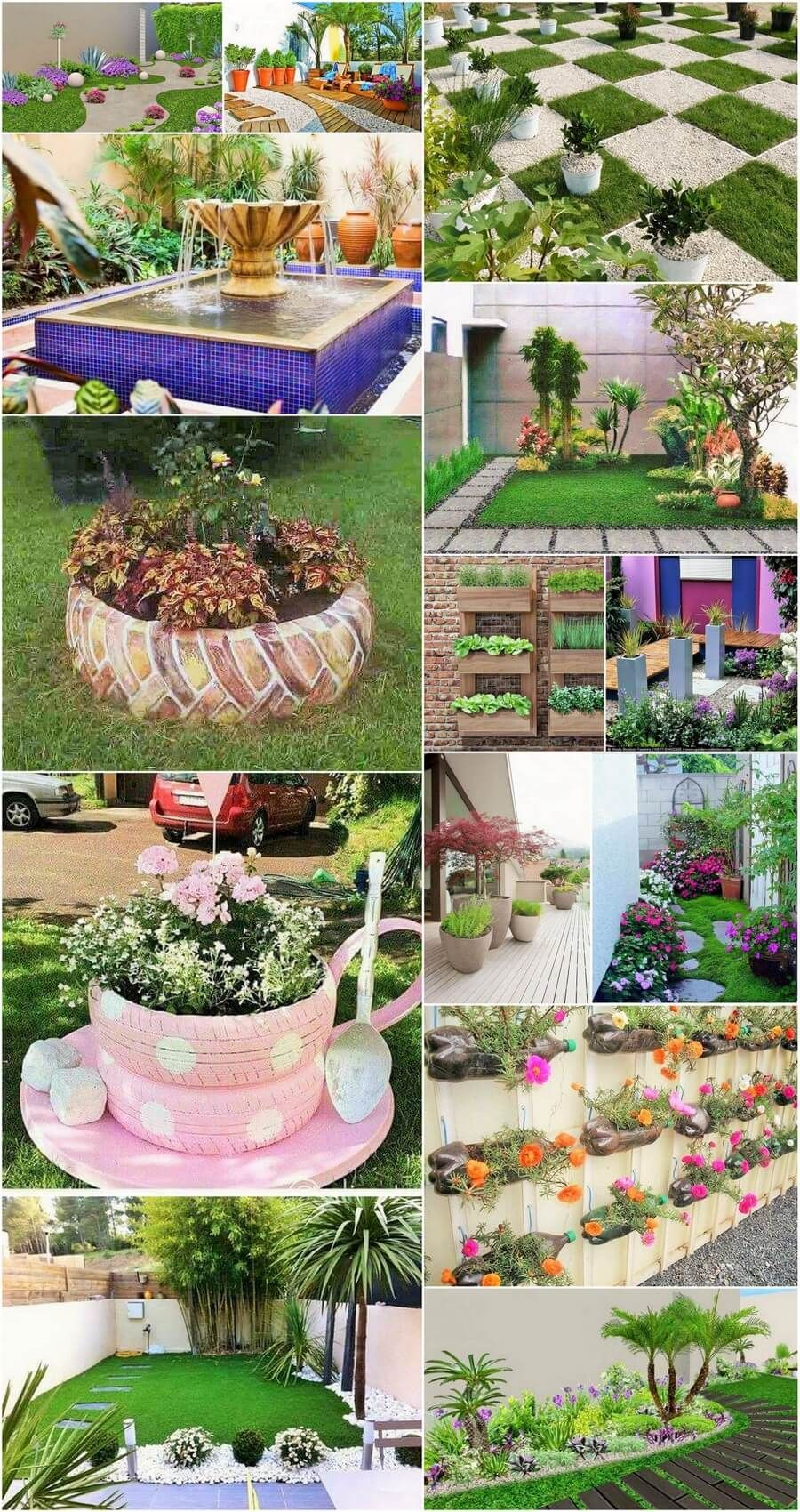 Decoration Ideas For Small Home Gardens Garden Front Garden