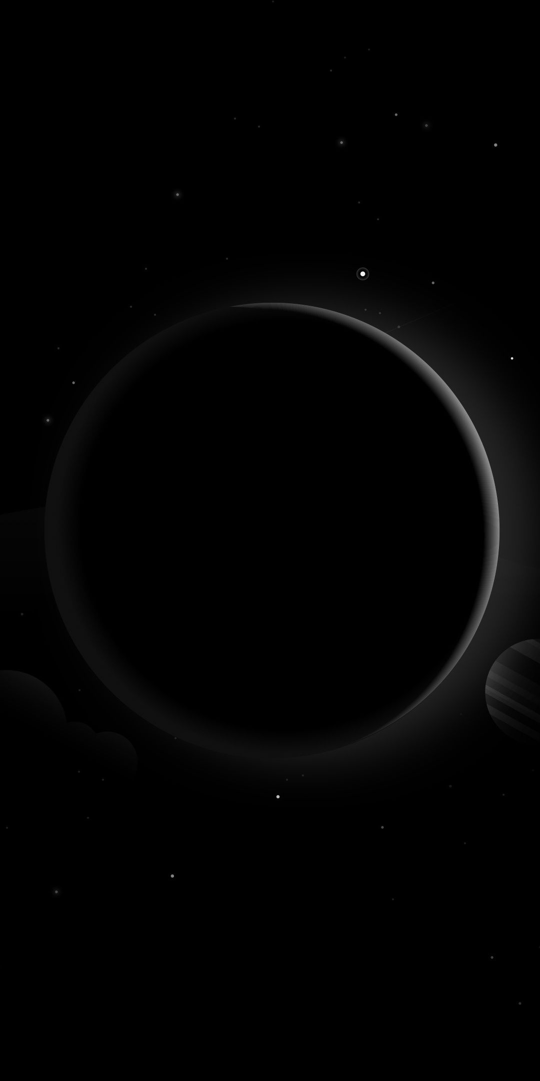 Space Dark Planets Abstract 1080x2160 Wallpaper Planos De Fundo Plano De Fundo Iphone Papel De Parede Android