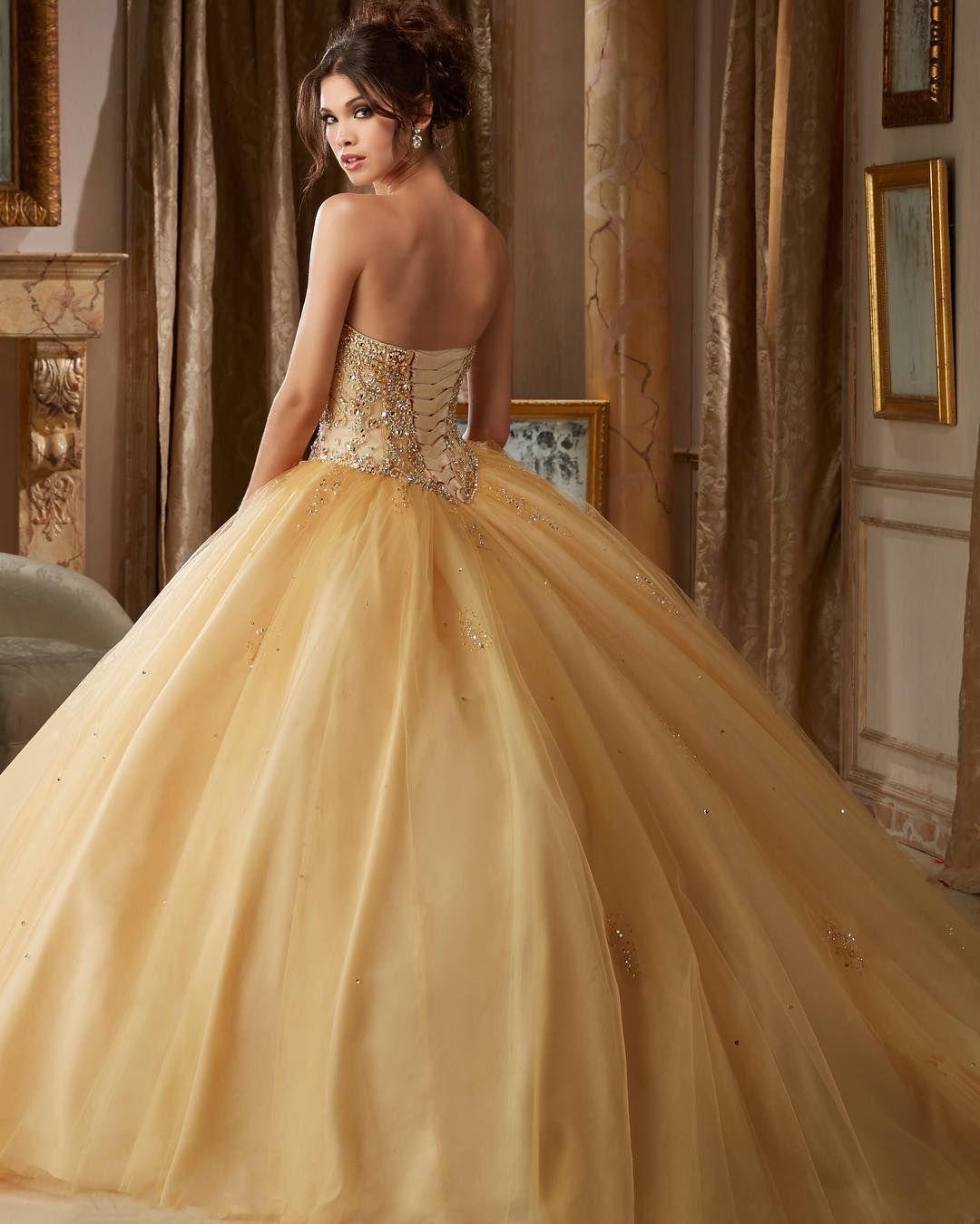 Nueva Colección De Vestido De 15 Años Hermoso