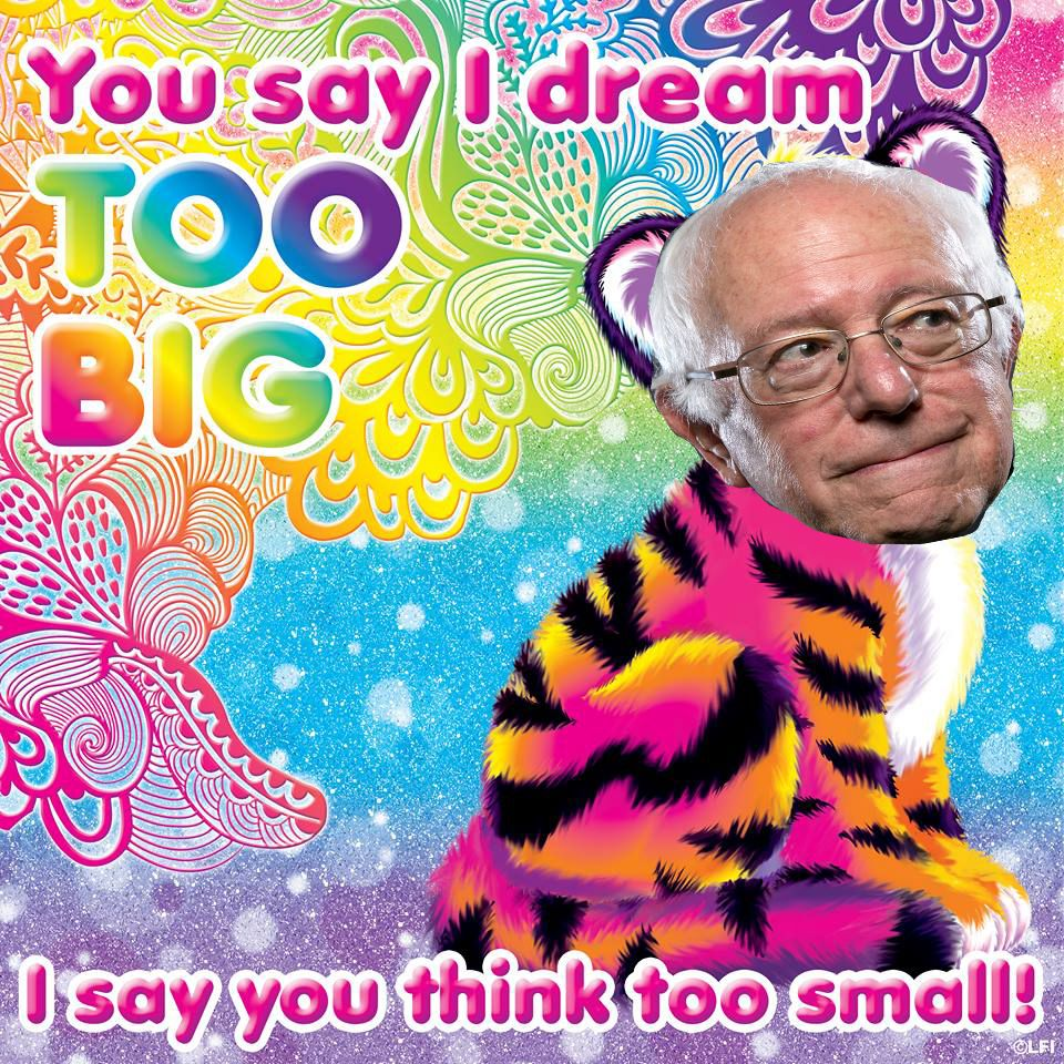 Bernie Sanders Dank Meme Stash Lisa Frank Stickers Lisa Frank Rainbow Art