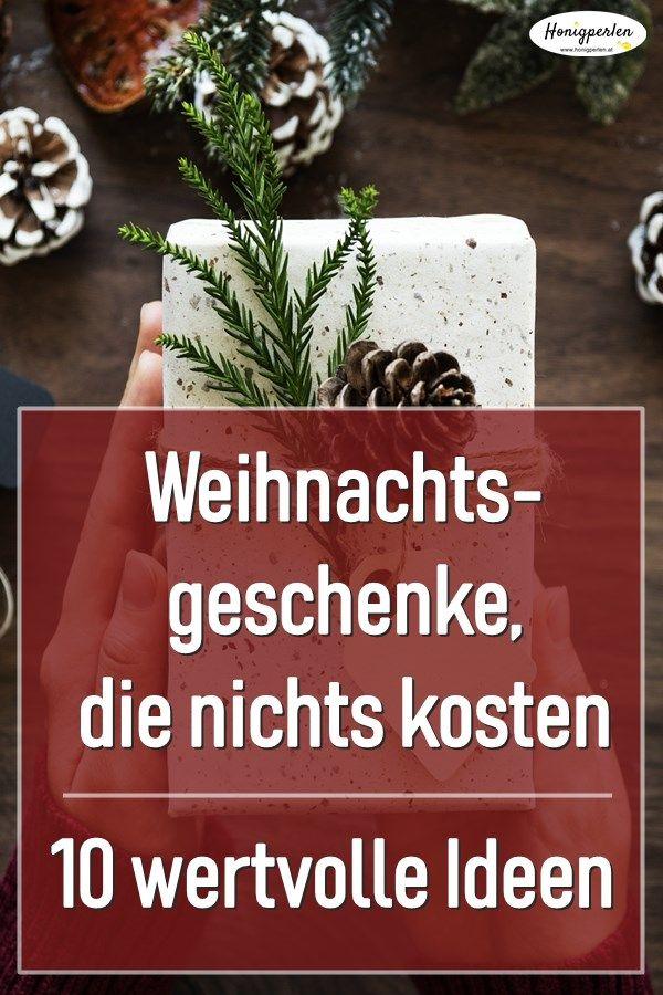 Wertvolle Weihnachtsgeschenke, die nichts kosten | Geschenke ...