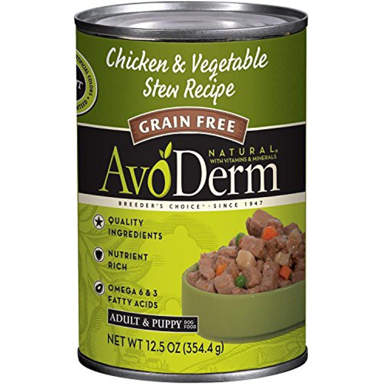 Avoderm Breeder's Choice Chicken/Veg Canned Food (12 Pack
