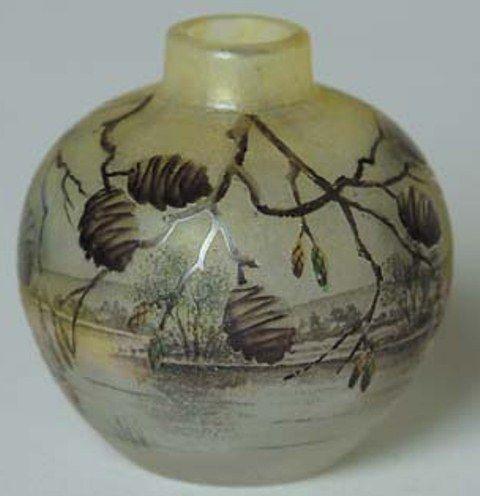 Daum Nancy Pinecones Vase Value And Appraisal Daum Nancy