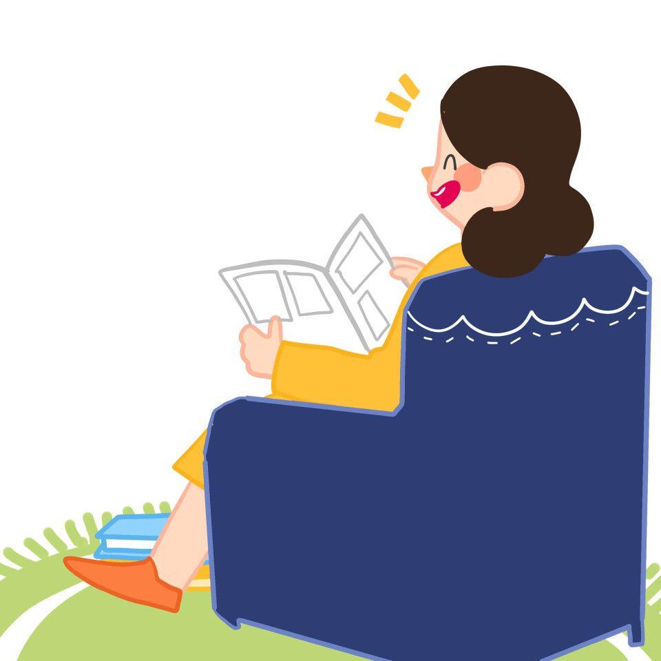 Bumil Baca Novel Atau Komik Komik Pola Doodle Novel