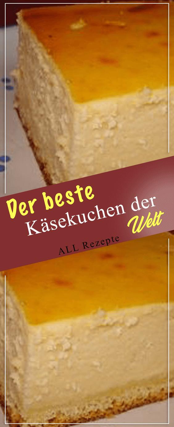 Der beste Käsekuchen der Welt.#Kochen #Rezepte #einfach #köstlich #schnelletortenrezepte