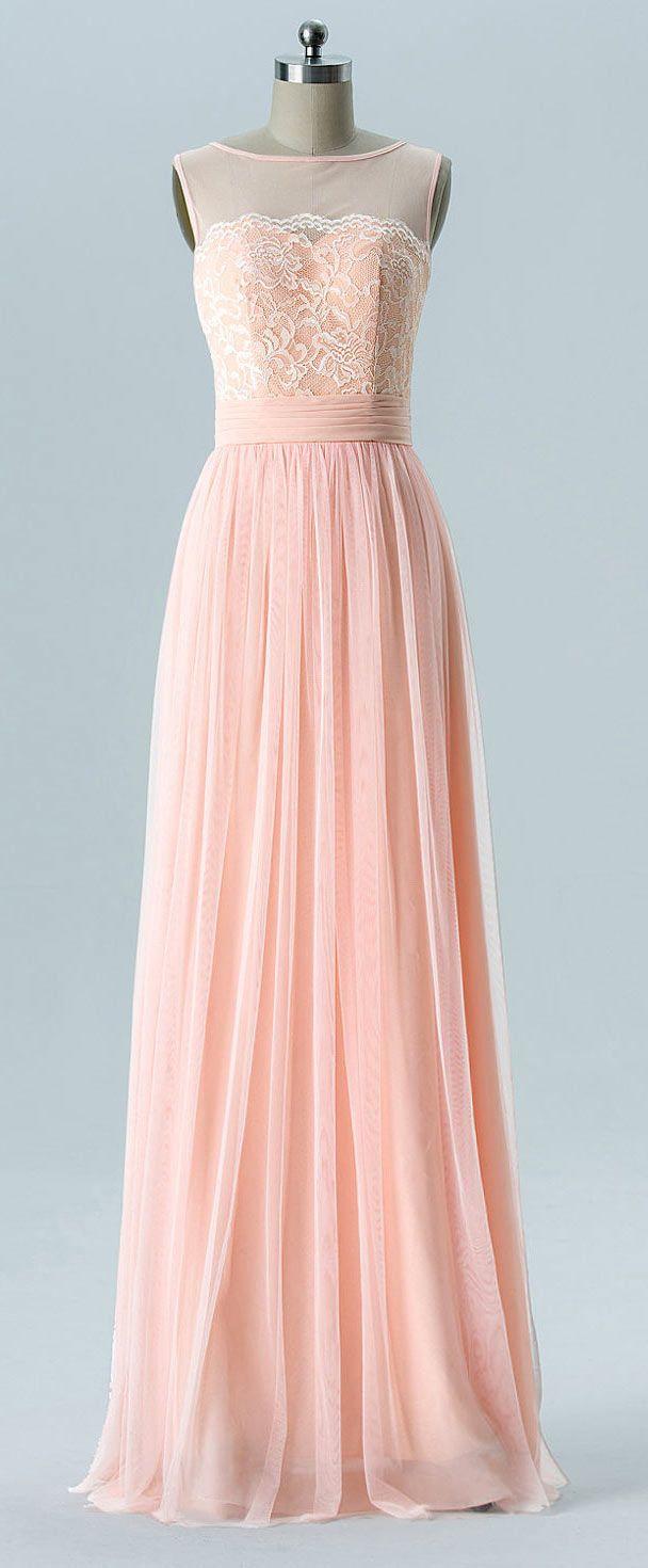 db90cb86949 robe de soirée saumon longue encolure illusion