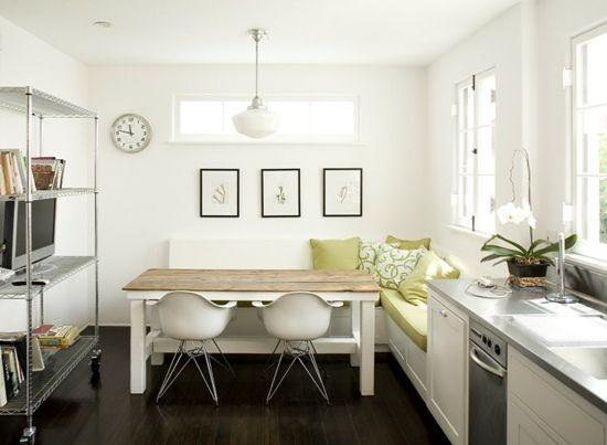 skandinavische Küche Eckbank #homesweethome Pinterest Small - essecken für küchen