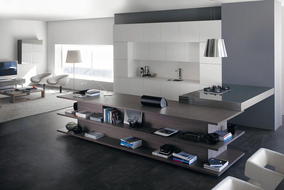 Cocinas Modernas Muebles De Cocina Cocinas De Dise O Loft  # Muebles Famosos