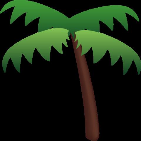 Palm Tree Emoji Palm Tree Emoji Cool Emoji Palm Trees