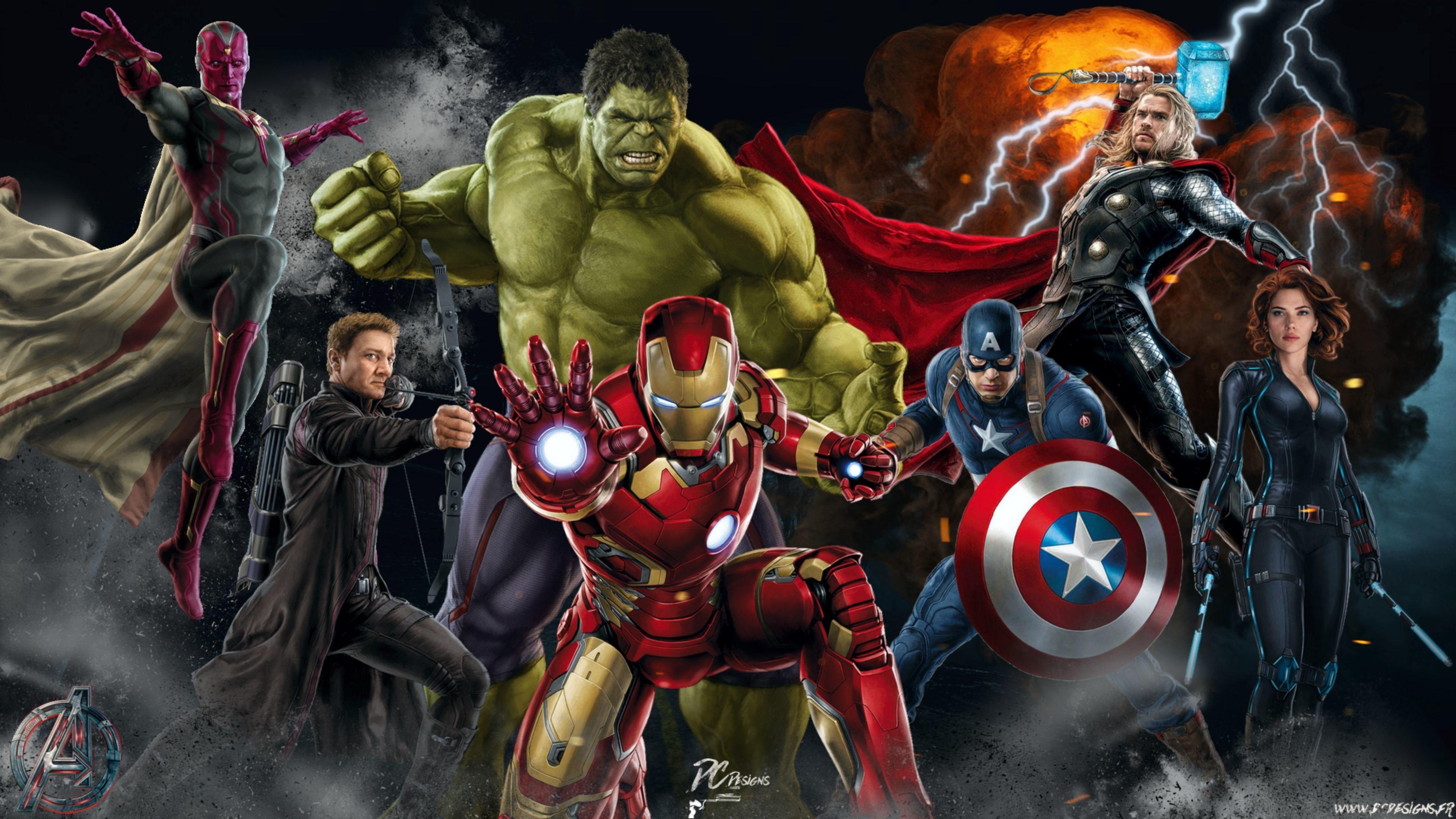 3840x2160 Download Original Resolution Avengers Wallpaper Iron Man Wallpaper Captain America Wallpaper